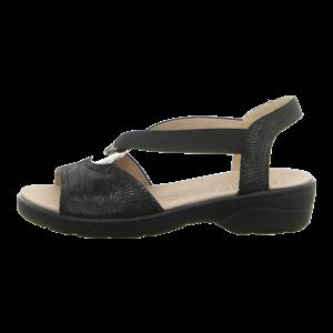 Sandaletten - Caprice - black reptile