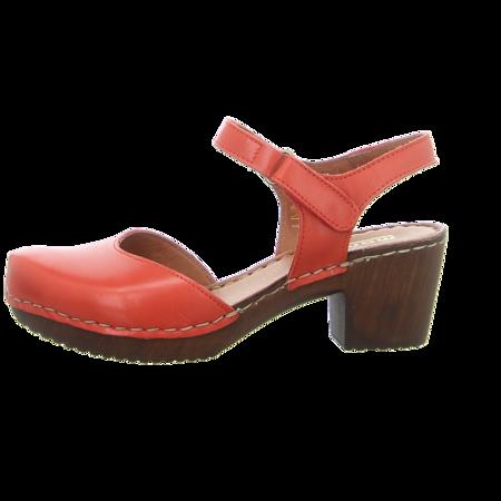 Sandaletten - Manitu - rot