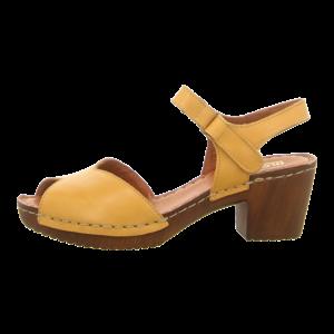 Sandaletten - Manitu - gelb