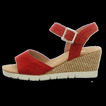 Sandaletten - Gabor - red (Raffia)