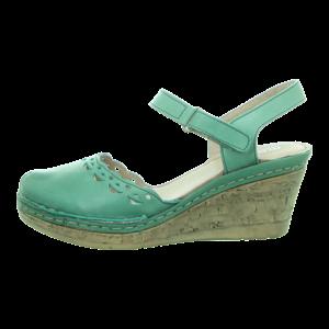 Sandaletten - Manitu - grün