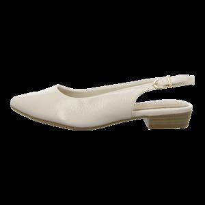 Slings - Tamaris - ivory patent