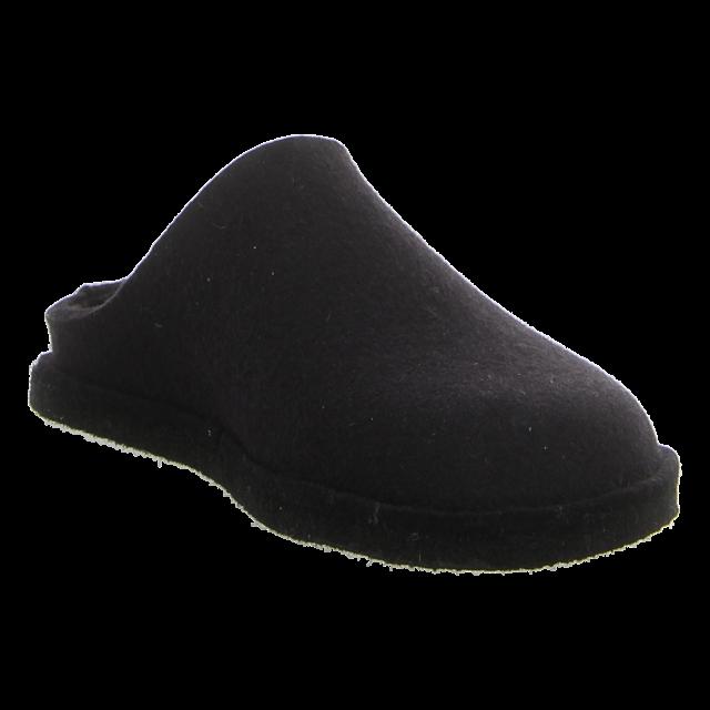 Haflinger - 311010 03 - Flair Soft - schwarz - Hausschuhe