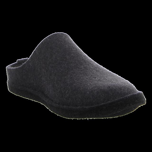 Haflinger - 311010 77 - Flair Soft - graphit - Hausschuhe