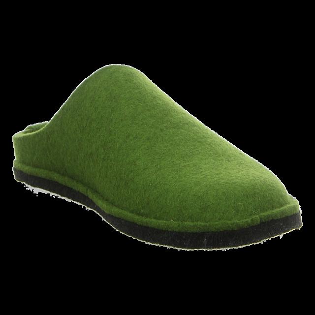 Haflinger - 311010 36 - Flair Soft - grasgrün - Hausschuhe