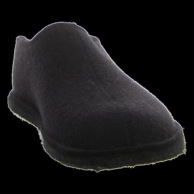 Haflinger - 311013 03 - Flair Smily - schwarz - Hausschuhe
