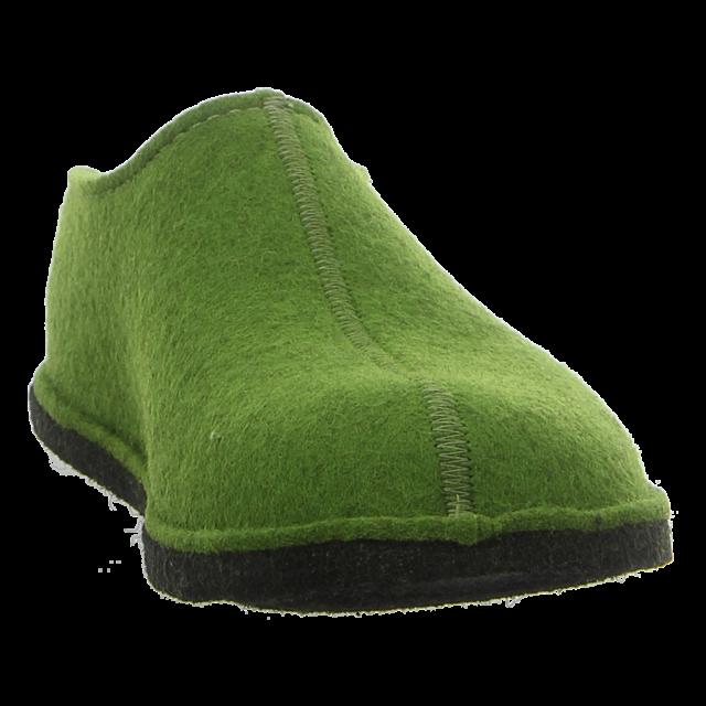 Haflinger - 311013 36 - Flair Smily - grasgrün - Hausschuhe