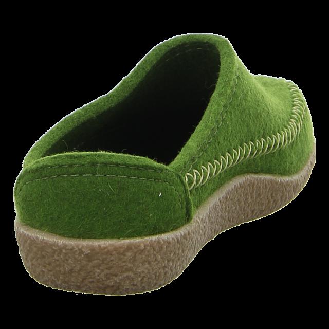 Haflinger - 718001 36 - Blizzard Credo - grasgrün - Hausschuhe