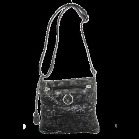 Handtaschen - Rieker - metallicwarz-silber