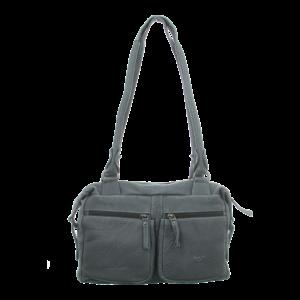 Handtaschen - Voi Leather Design - Reißverschlusstasche - grau