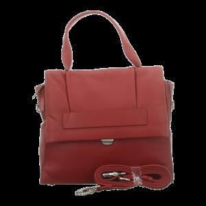 Handtaschen - Voi Leather Design - Kurzgrifftasche - granat