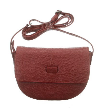 Handtaschen - Voi Leather Design - Überschlagtasche - granat