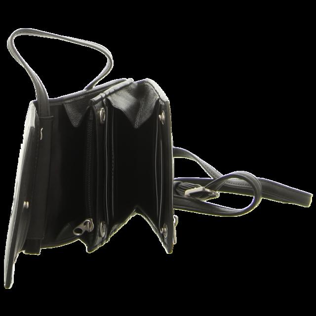 Voi Leather Design - 10063 SZ - Tasche m.Gürtelschl. - schwarz - Handtaschen