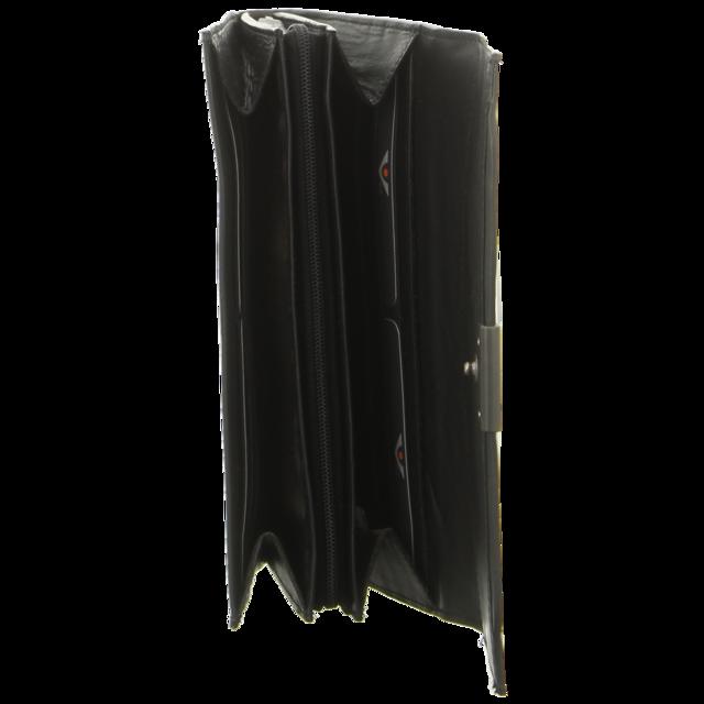 Voi Leather Design - 70403 SZ - Damenbörse - schwarz - Geldbörsen