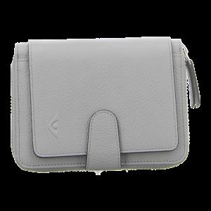 Geldbörsen - Voi Leather Design - Damenbörse Ildiko - zink