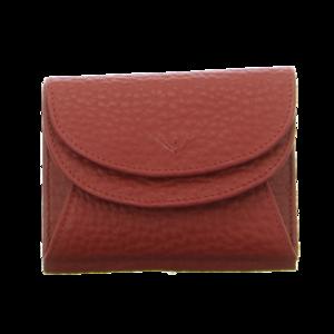 Geldbörsen - Voi Leather Design - Wiener Schachtel - granat