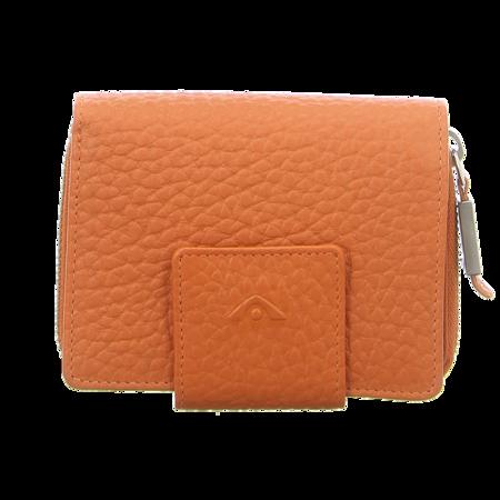 Geldbörsen - Voi Leather Design - Kombibörse Ida - orange
