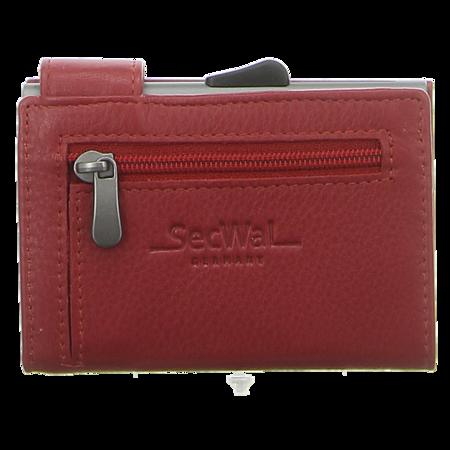 Geldbörsen - SecWal - Kartenetui mit Geldbeutel Rv - rot