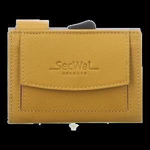 Geldbörsen - SecWal - Kartenetui mit Geldbeutel Dk - gelb