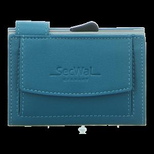 Geldbörsen - SecWal - Kartenetui mit Geldbeutel Dk - türkis