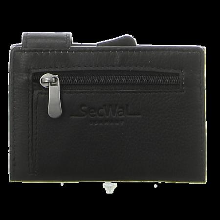 Geldbörsen - SecWal - Kartenetui mit Geldbeutel Rv - schwarz